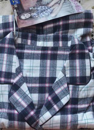 Польская тёплая фланелевая ночная сорочка,сорочка нічка  key , хххл xxxl, фланель