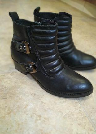 Демисезонные (весна-осень) ботинки bronx, натуральная кожа