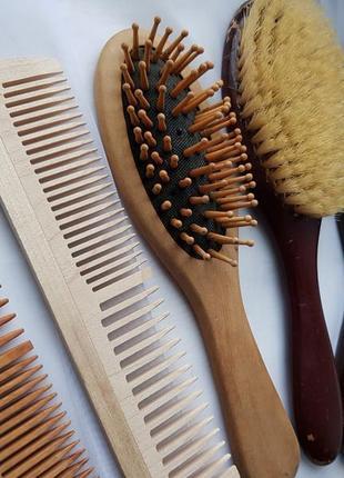 Набор натуральных расчёсок