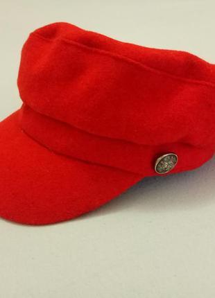 Женская фетровая кепи, фуражка, кепка, картуз primark, англия.