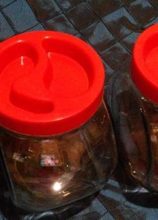Набор контейнеров для сыпучих,конфет.толстое стекло.доставка бесплатно.