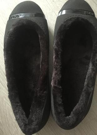 Crocs 40р на меху