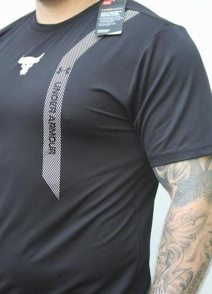 Футболка мужская бренд under armour черная