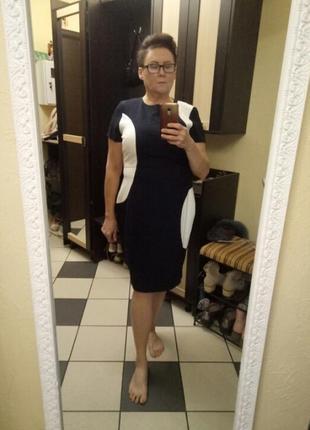 Платье-футляр,батал,большой размер
