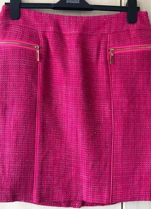 Фактурная юбка букле sassofono / l