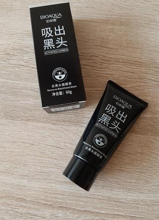 Черная маска-пленка для лица