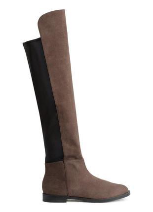Новые сапоги ботфорты от h&m 39, 40 размер
