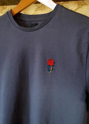 Симпатичная футболка с вышивкой river island