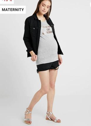 Новые джинсовые шорты мом для беременных 20/54-56 размера