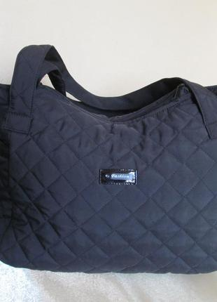 076f14aa40b8 Стеганая дутая женская сумка черная, цена - 165 грн, #3214674 ...
