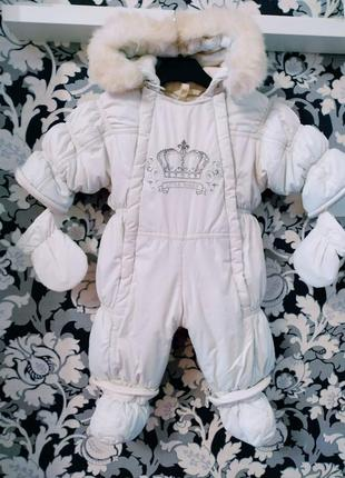 Зимний комбинезон garden baby,68рост