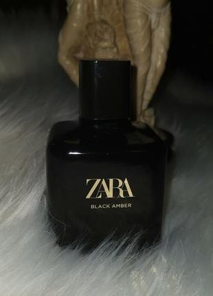 Zara black ambre