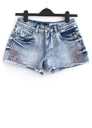 Плотные джинсовые шорты new look • р-р xs