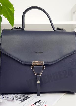 Бесплатная доставка #014 blue david jones стильная деловая сумка кроссбоди