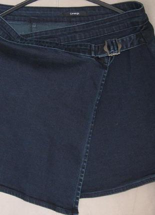 Классная юбка от george uk10, cotton