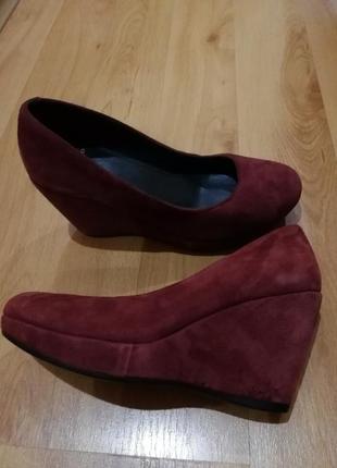 Туфли замшевые, vagabond