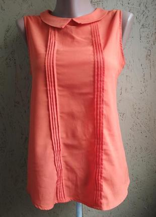 Блуза оранжевая 071