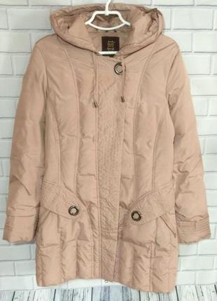 Тонкий пуховик, куртка с капюшоном snow owl