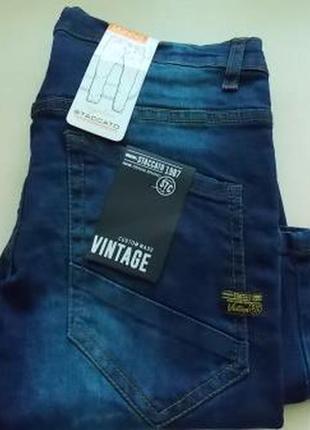 Фирменные немецкие подростковые джинсы скинни staccato р-р164.оригинал