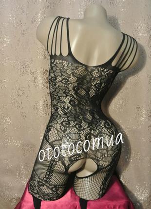 5-67 сексуальна боді сітка сексуальная боди-сетка с рисунком эротическое белье3 фото