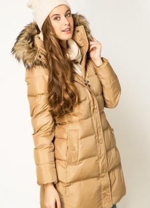 Теплый зимний пуховик от дорогущего бренда tommy hilfiger