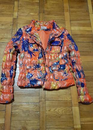 Яркая тепленькая куртка