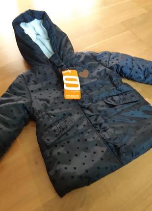 Фирменная демисезонная куртка staccato р-р 74 и 86.оригинал