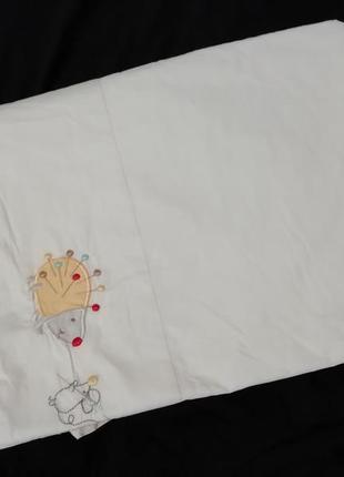 Простынка в детскую кроватку, 116х150см