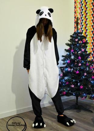 Пижама-кигуруми футужама панда
