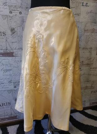 Нарядная юбка apart с вышивкой и бусинами