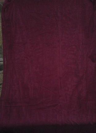 Тюль бордового цвета   2 отреза размер висота 2,15 см ширина 152см