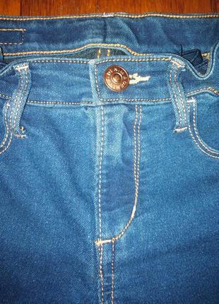 Стрейчевые джинсы на мальчика  h&m 8-9 лет
