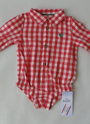 Рубашка 3-6 мес marks & spencer англия