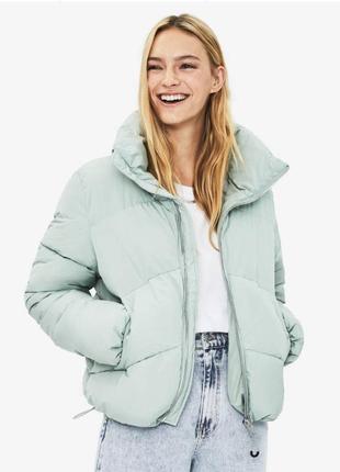Куртка дутая puffer bershka