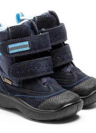 Зимние ботинки для мальчика, мембранные, тм тигина.