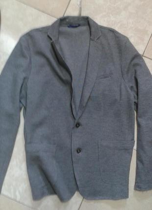 Стильный пиджак блейзер джерси стиль кэжуал л- хл германия watsons