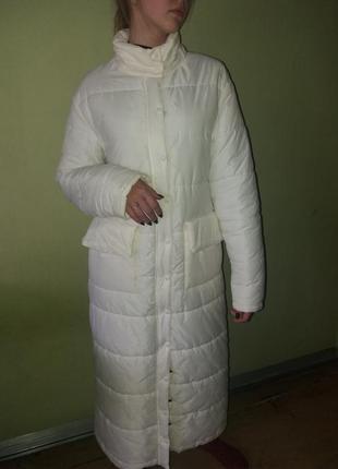 Пальто на утеплителе зима