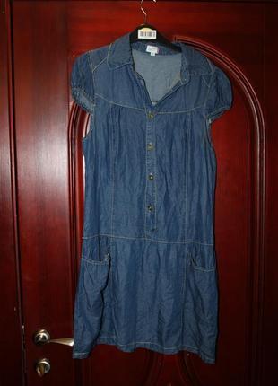 Джинсовое платье наш 42-44 размер от outfit nkd