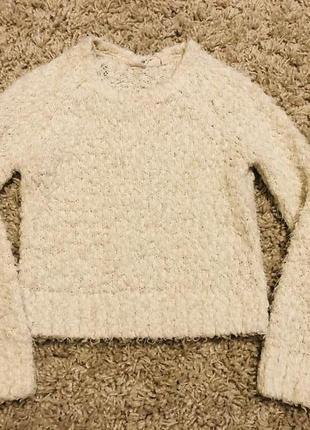 Теплая кофта свитер травка на 110-128 рост