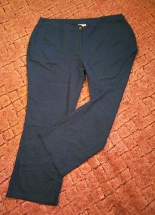 Отличные брюки лен и вискоза большой размер 24 junarosr