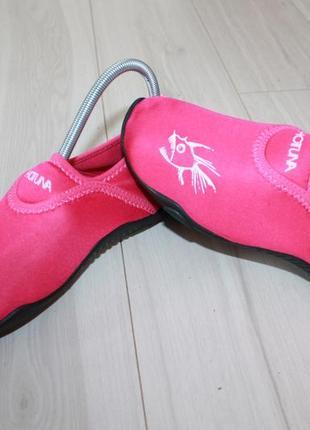 Аквашузы кораллки пляжная обувь разм 34 hot tuna