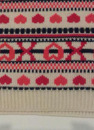 Хомут в орнамент снуд шарф атм