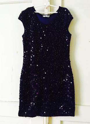 Платье пайетки платье вечернее