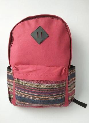 Стильный женский рюкзак, тканевый рюкзак ethno