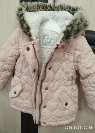 Деми курточка для девочки