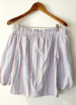 #розвантажуюсь ❤️ блуза с резинкой на плечах