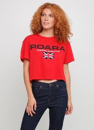 Короткая футболка h&m р.xs