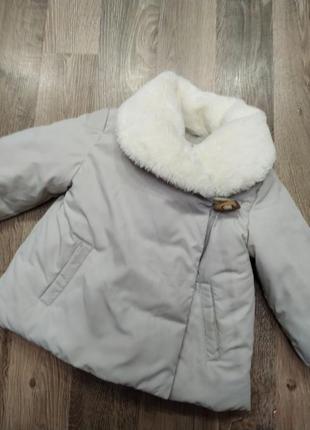 Курточка zara babygirl,12-18