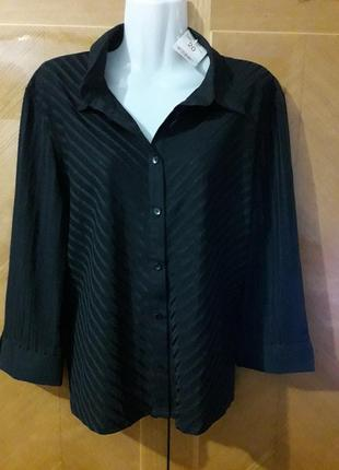 Новая классическая  офисная блуза  bonmarche р.20