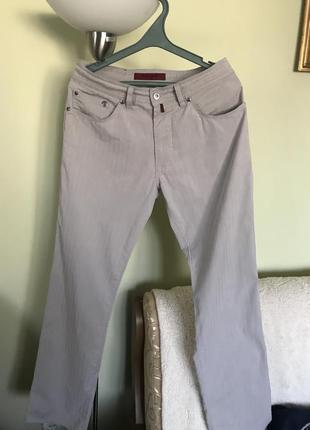 Летние хлопковые штаны под джинс
